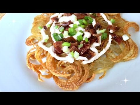 Curly Fry Pie f/ Famous Idaho Potatoes