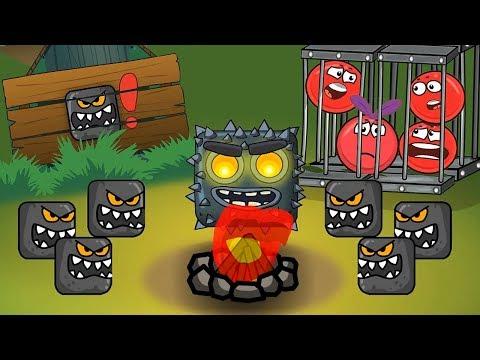 Мультфильм для детей ! про Red Ball 4 - Красный Шарик ! По мотивам Игры ! Новинка ! - Ruslar.Biz
