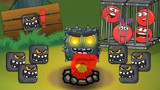 Cartoon for kids ! about the Red Ball ! Based on the Game! New !