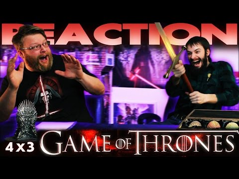 Game Of Thrones 4x3 REACTION!!