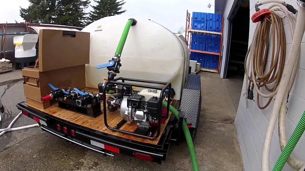 Custom Fire Fighting Trailer Tanker Youtube