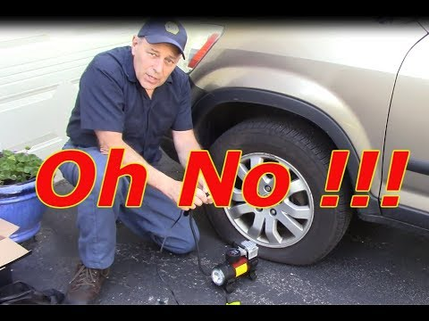Flat tire now what ? Gooloo air pump review