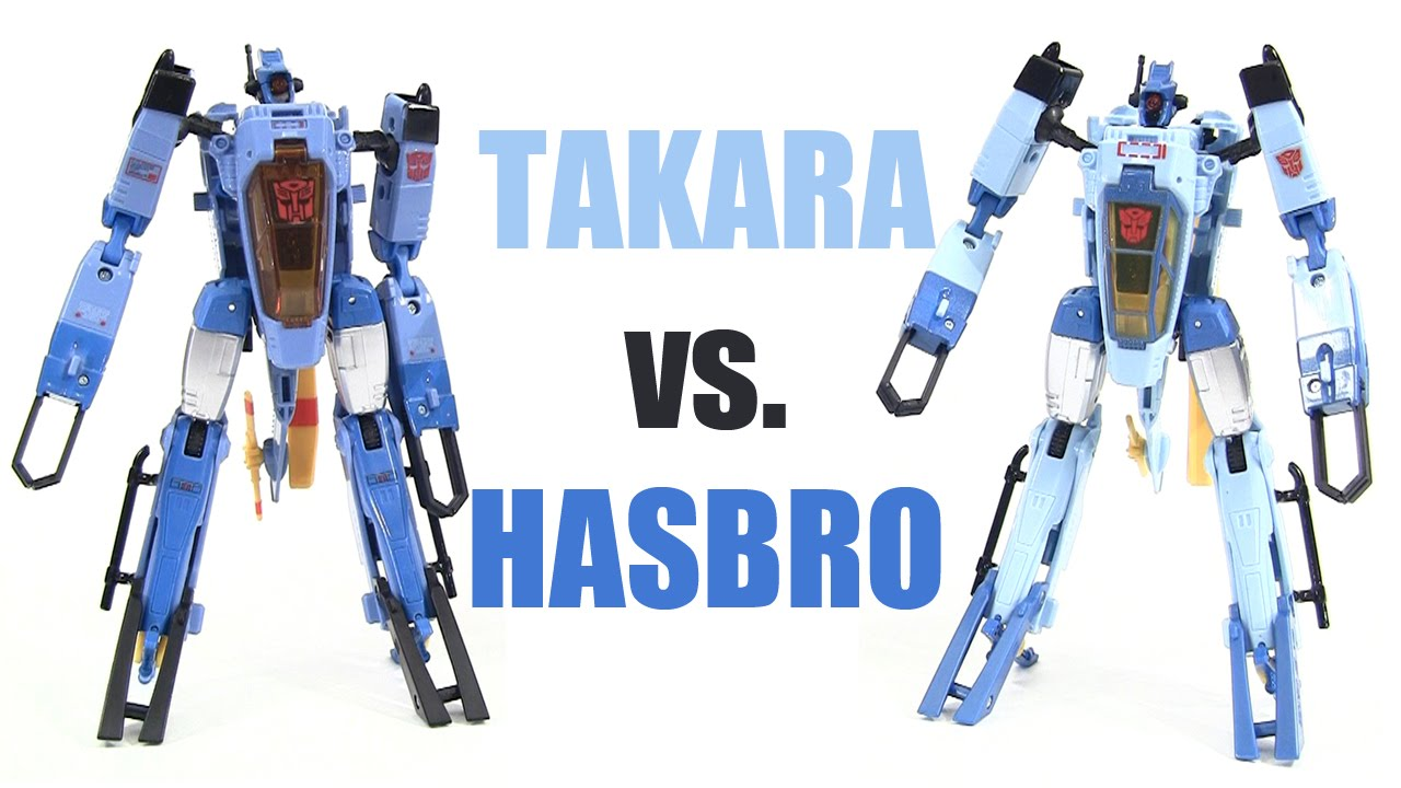 Takara Legends Whirl vs  Hasbro Generations Whirl comparison review