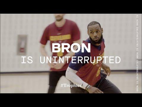 LeBron & Cavs Take On The 2018 NBA Playoffs   TROPHIES
