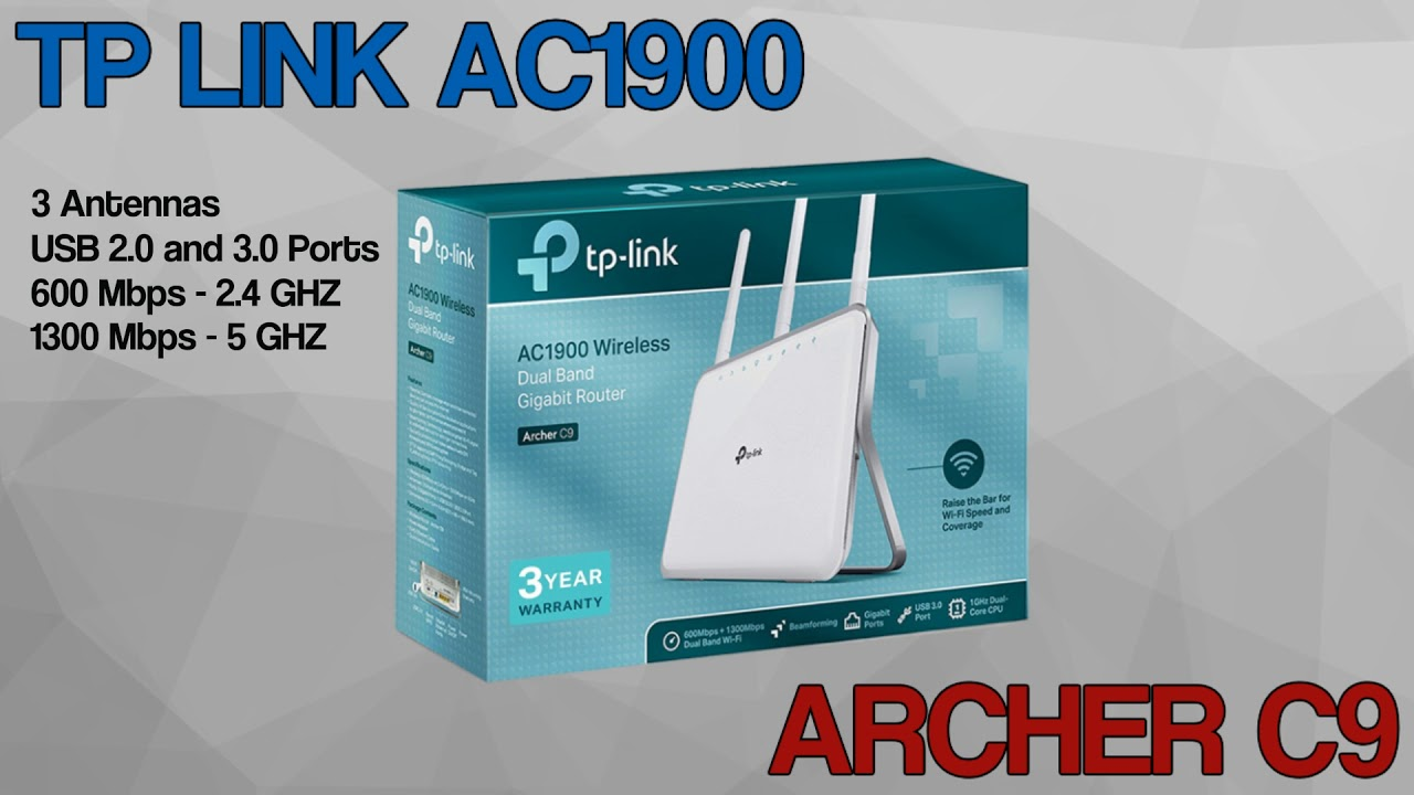 TP Link Archer C9 Wireless Router - Quick Review