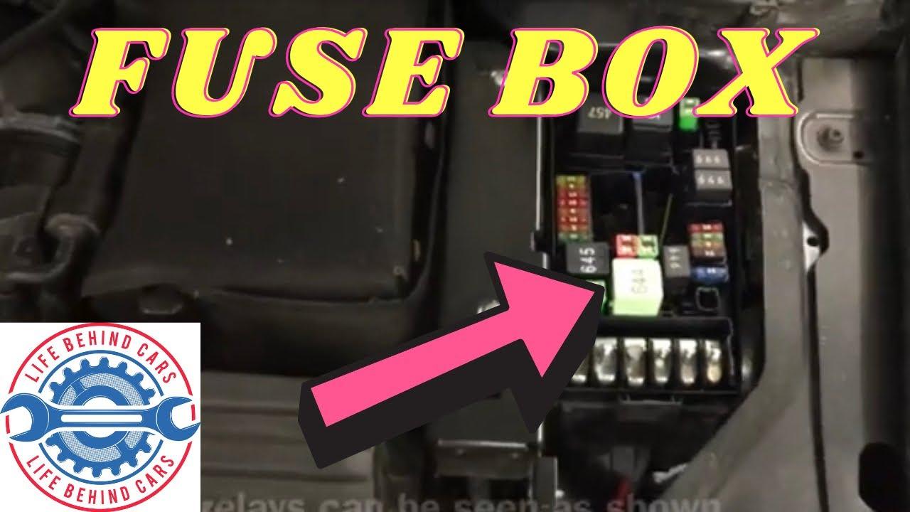 Audi A3 Tdi 2010 Fuse Box  U0026 Relays Location