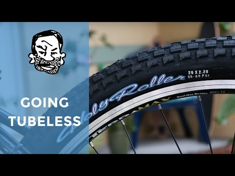 Tubeless Con on Maxxis Holy Rollers