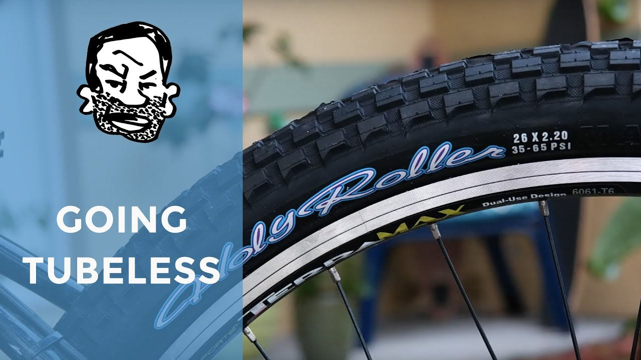 Tubeless Conversion On Maxxis Holy Rollers Youtube