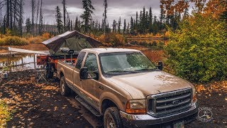 Fall Camping and Landscape Photography | Some Rain and Fall Color