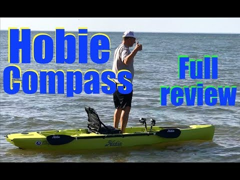 HOBIE COMPASS MIRAGE DRIVE FULL REVIEW - in shop and on the water