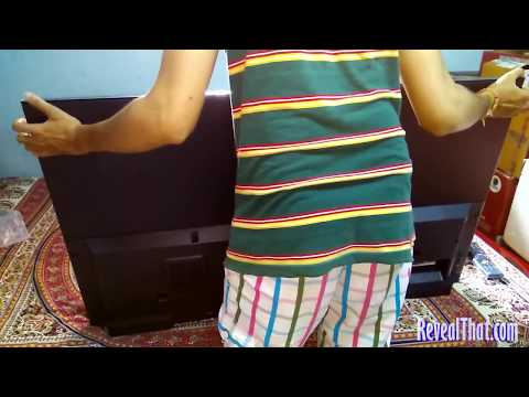 Sony KLV 48W562D 48 inch LED Smart TV Unboxing