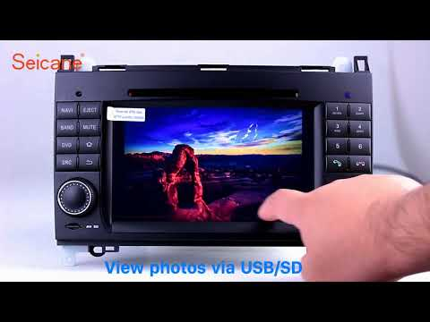 Aftermarket GPS 2004-2012 Mercedes Benz B class W245 B150 B160 Android 7.1 Radio DVD Audio system