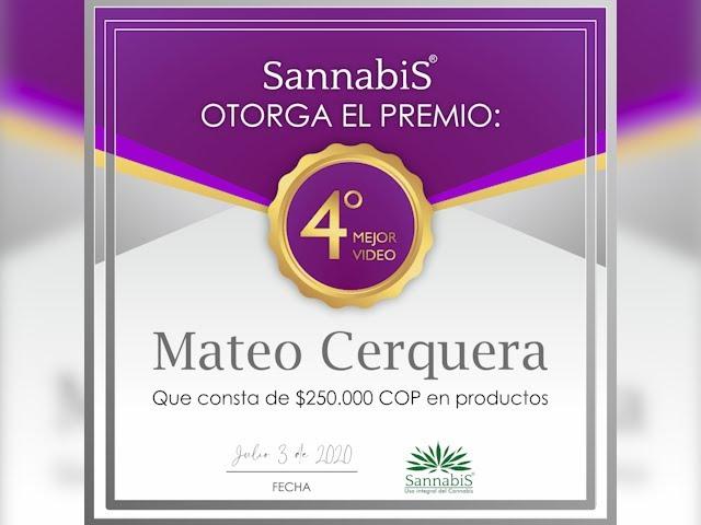 Testimonio Sannabis Mateo Cerquera
