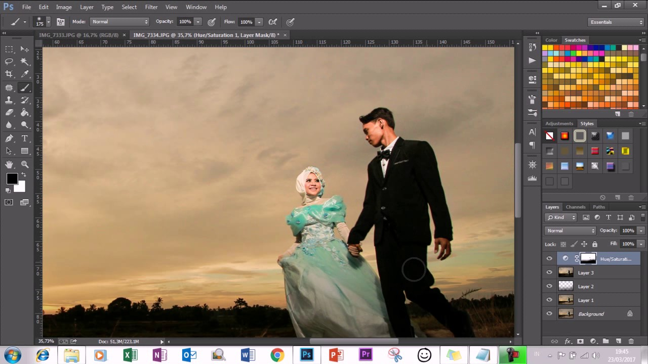 Tutorial Editing Foto Prewedding Dengan Photoshop CC - On ...