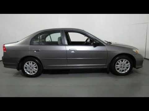 Used 2005 Honda Civic Cary NC Raleigh, NC #CH86204A