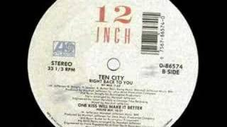 Ten City -Right Back To You (NY mix) - Jazz Dub