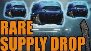Black Ops 3 RARE SUPPLY DROP vs Common Supply Drop + KNIFE OPENING (Black Ops 3 Supply Drop)