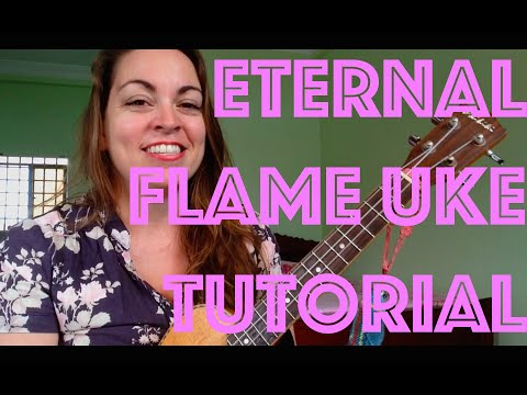 How to Play ETERNAL FLAME ~ Ukulele Lesson The Bangles 80s