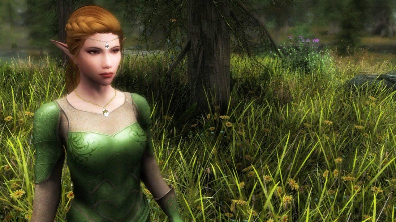 Skyrim Special Edition Xbox One: Part 31 – Ashara Newermind's Elven Archer  armour