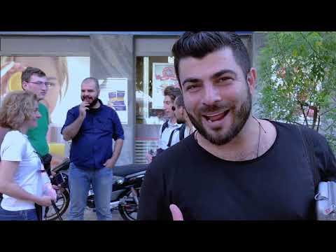 The Hellenic Initiative Australia's Volunteering Program at farmers markets in Athens