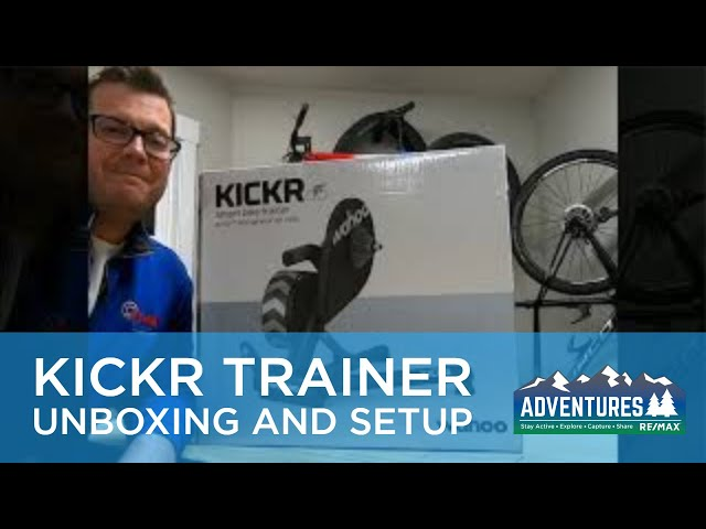 Wahoo Kickr Trainer Unboxing and Setup