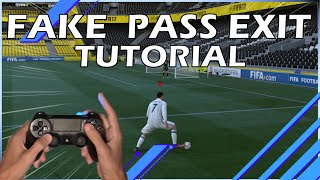 FIFA 17 - Fake pass exit skill TUTORIAL - FR