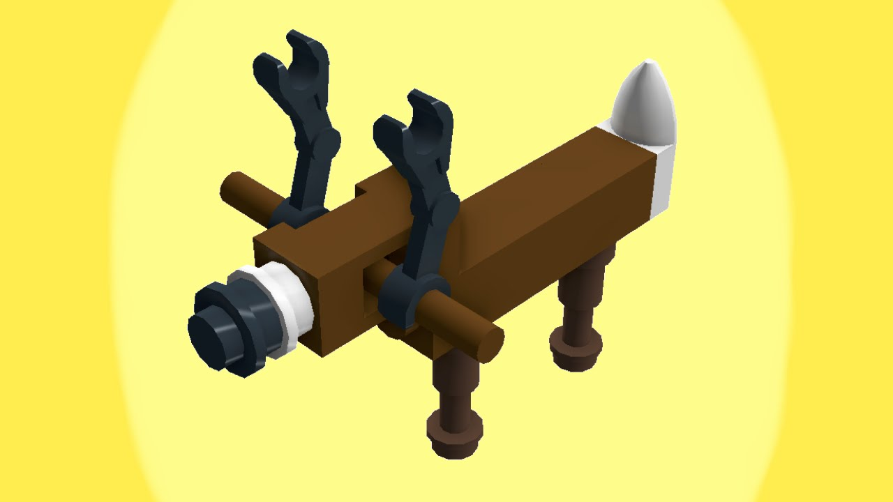 Teeny Tiny LEGO Animals How To Build A Deer