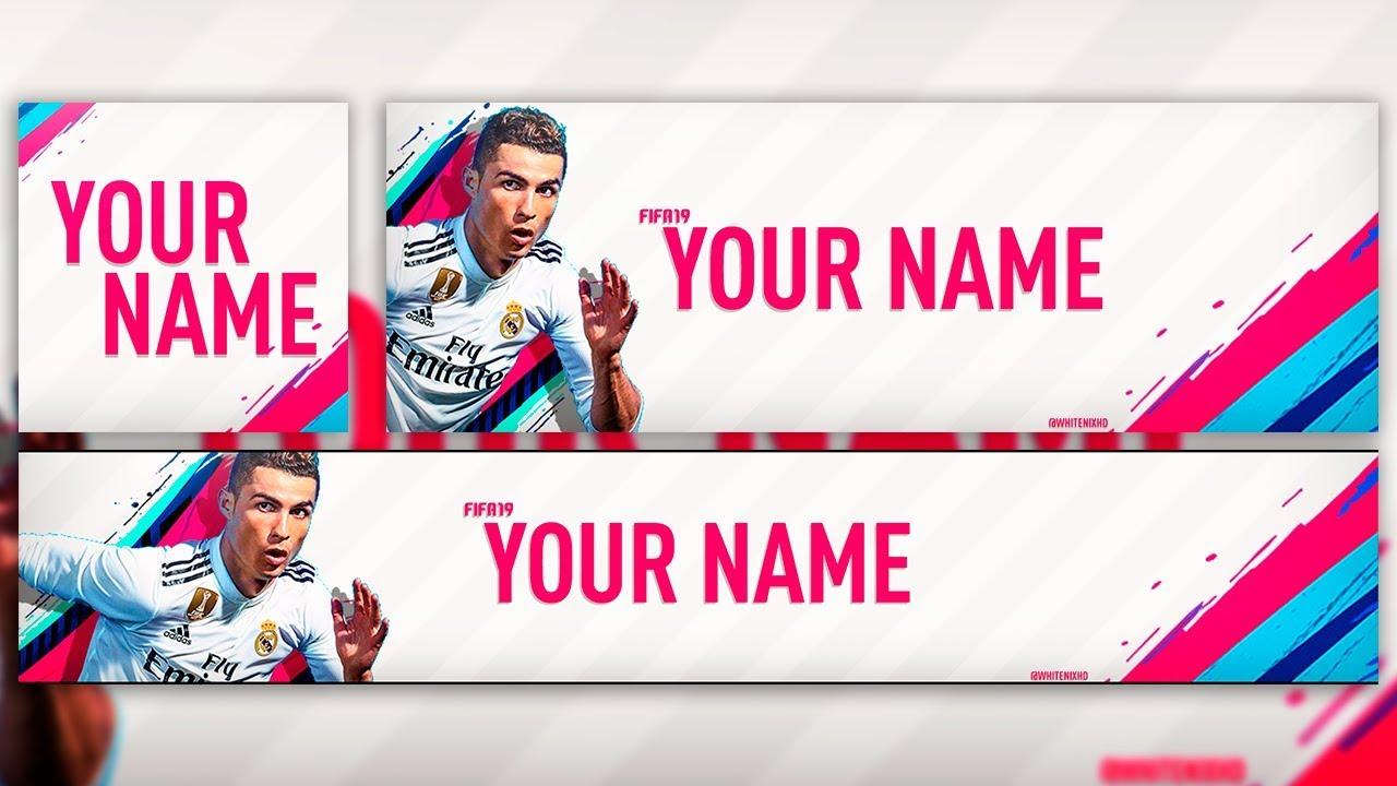 FIFA 19 SOCIAL REVAMP FREE PSD TEMPLATE WHITE NIX YouTube
