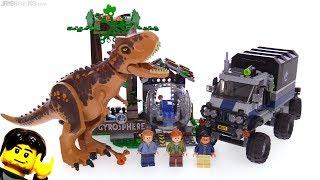 LEGO Jurassic World Carnotaurus Gyrosphere Escape review! 75929