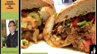 Super Sandwich De Carne