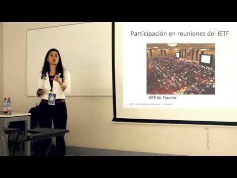 SSN 2015 - Sandra Céspedes: IETF