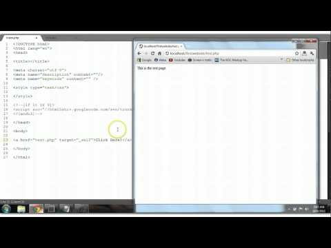 HTML Tutorial #12: Hyperlink (Links)