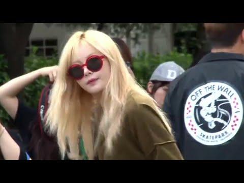 [150904] Hyuna (현아) - Off to Music Bank
