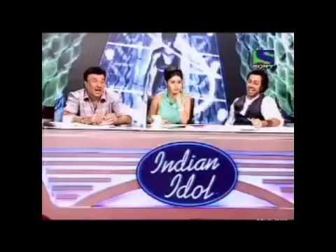 Dhinchak pooja selfie maine leli Aaj song in indian idol Audition - The Crazy Boom