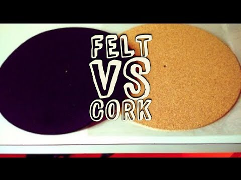 Felt vs Cork Turntable Mat: Sound Comparison