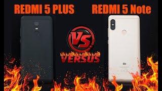 Xiaomi Redmi Note 5 vs Redmi 5 plus - что же выбрать? Полное сравнение Redmi note 5 и 5 Plus
