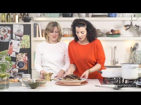 Allerhande kookt met Nadia en Merijn - koshari met dukkah