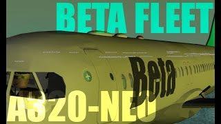 ROBLOX Beta Fleet A320 First class!
