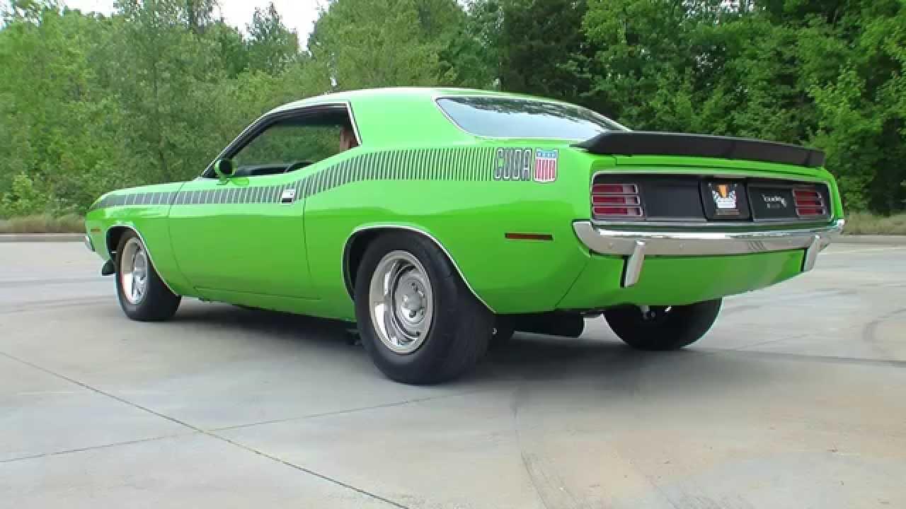 134724 1970 Plymouth Cuda Aar Youtube