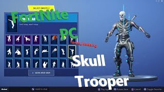 {PC} FortNite Skull Trooper Account Showcase