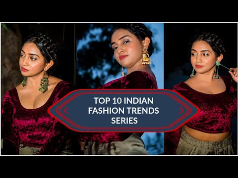 Indian Fashion Trends Series - Jewellery - Earnings - Part 1