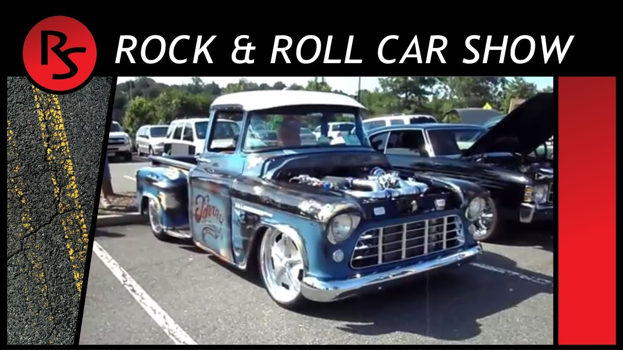 Q Rock Roll Car Show Ridgefield Park NJ YouTube - Car shows in nj