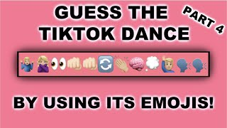Guess The TikTok By Using Emojis | Part 4