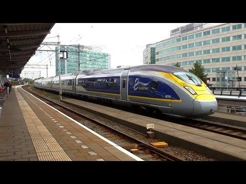 Trains at Hoofddorp - 31/08/18