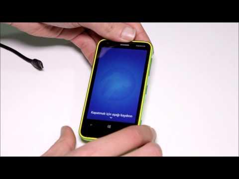 Nokia Lumia 620 Modeline Nasıl Format Atılır?