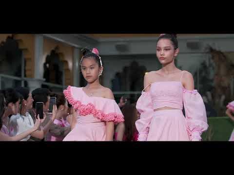 PINK SUMMER - KK CHILDREN by THANH HUYNH | PINK SUMMER FASHION KIDS 2019