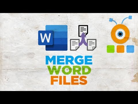 How To Merge Word Files In Word For Mac | How To Merge Multiple Word Documents Into One For MacOS