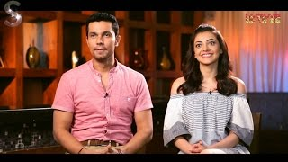 Kajal Agarwal & Randeep Hooda talk about 'Do Lafzon Ki Kahani' Exclusively only on MTunes HD