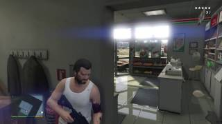 GTA V fast and easy way to get 5 stars