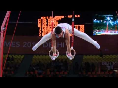 2010 Commonwealth Games Men's All Around Final Part 2